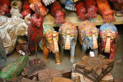Jodhpur à dos d'éléphant