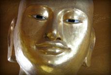 Tête et Mains de Bouddha