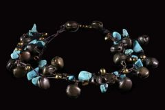 Cheville Grelots Turquoise